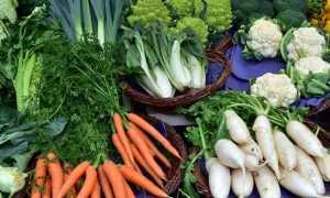mercato verdura