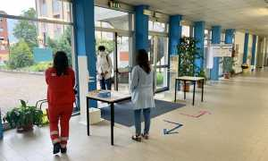 scuola liceo spezia imgresso covid maturita studenti