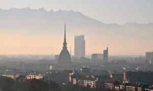 torino alba smog cupola