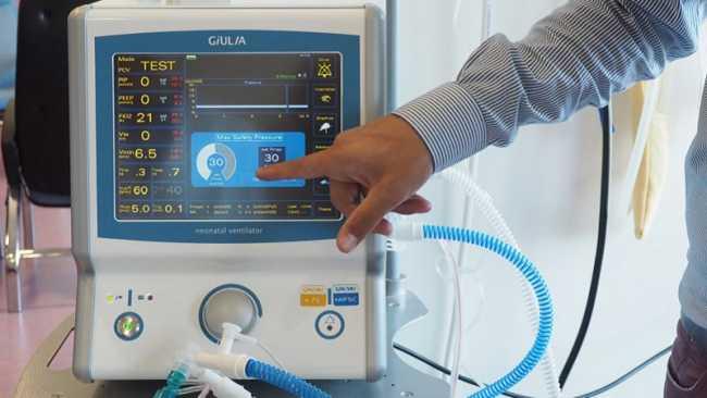 ventilatore neonatale