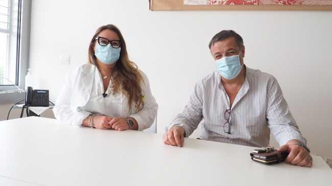 asl biella Graziano Gusmaroli e Pamela Pastorello