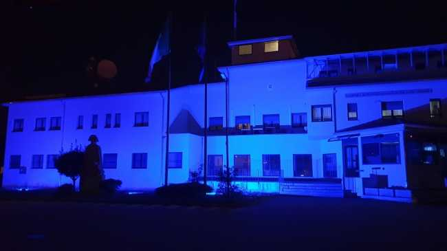 biella caserma carabinieri blu