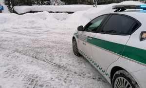 biella polizia locale neve