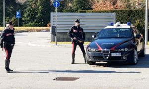 carabinieri posto blocco auto mitra paletta