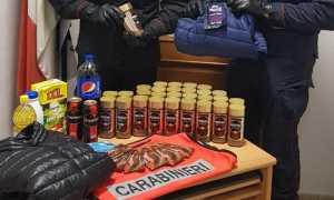 carabinieri furto supermercato