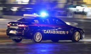 carabinieri notte velocita citta