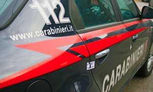 carabinieri scritte auto fianco