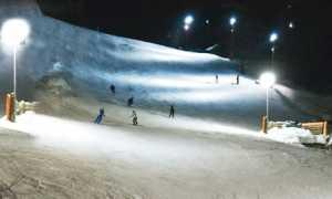 domobianca sci notte
